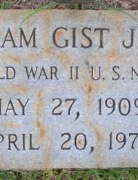 William Gist Jeter - gravestone