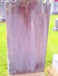 William Butler Headstone