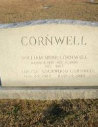 William Murr Cornwall, Sr. - Headstone