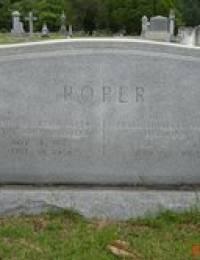 Rev John Caswell Roper, Sr. - Gravestone